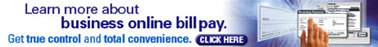 Learn More about Business Online Bill Pay